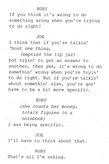 House Rules script screen shot
