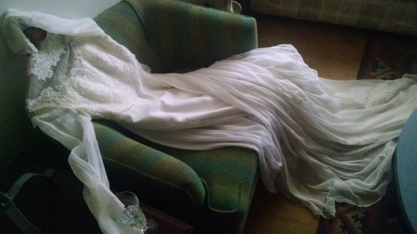 Vintage Cahill Wedding Dress